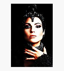 The Evil Queen - Black is my color Photographic Print