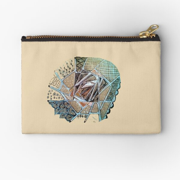 Bread Bag Art design 1 Zipper Pouch