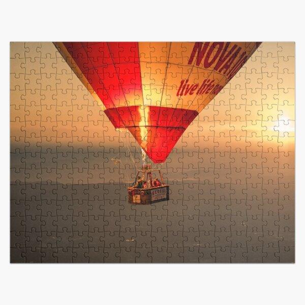 Adrift in the Mist at Sunrise II Jigsaw Puzzle