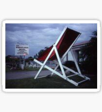 Biggest Deck Chair (?), Mildura, Australia 1999 Sticker