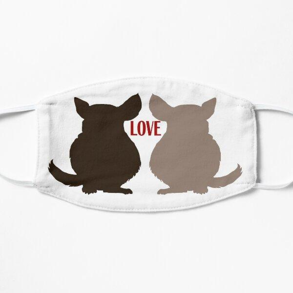 Chinchilla Love Flat Mask