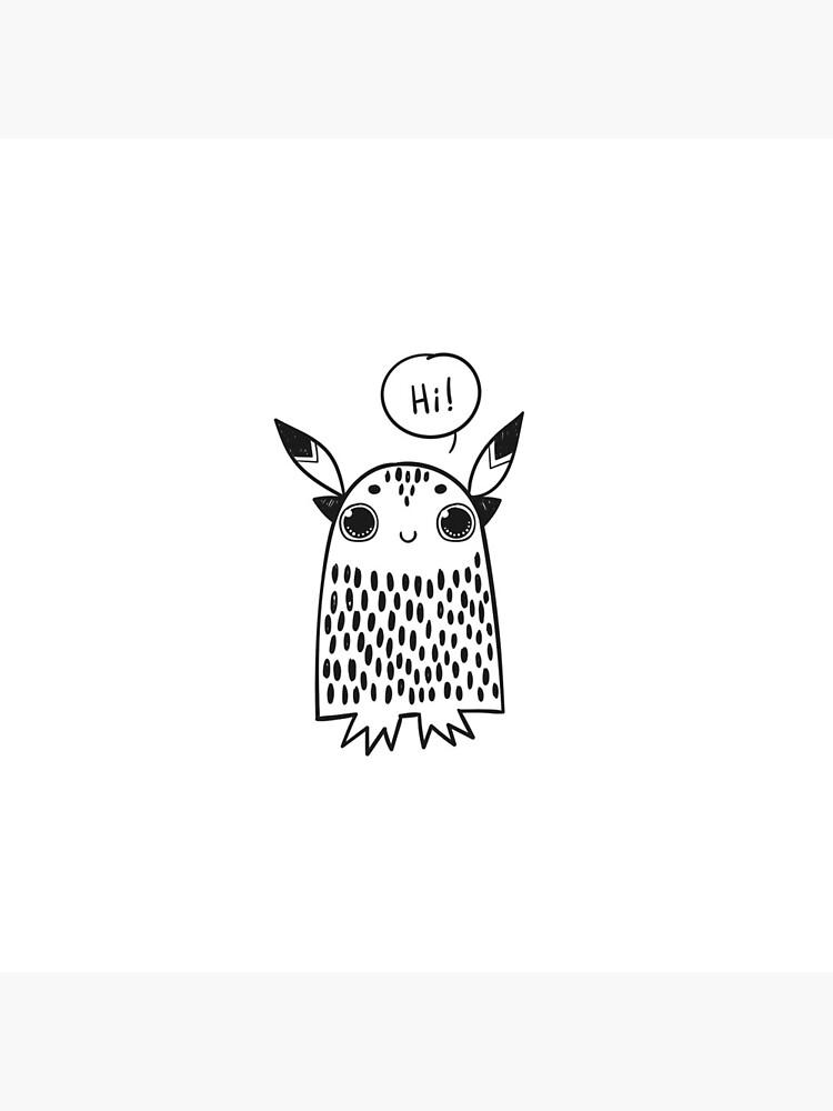 Owl Hi Love by mk84553