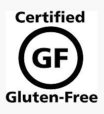 Certified Gluten Free Photographic Print