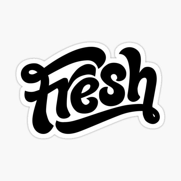 Fresh Black Sticker