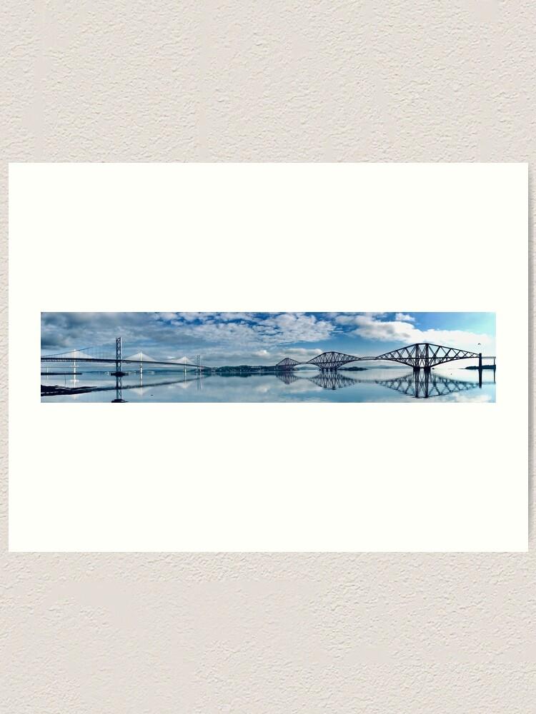 Alternate view of The Bridges Art Print