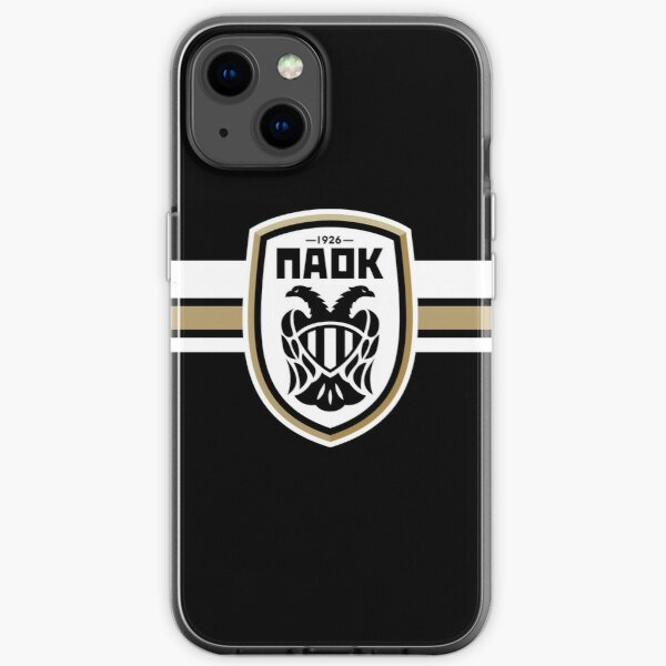 Till the end of my life, Greece, Paok  iPhone Soft Case