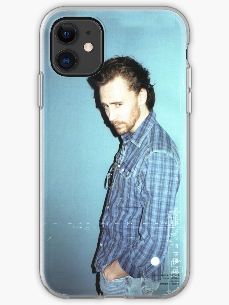 """Tom Hiddleston"""" iPhone Case & Cover by donweirocks 