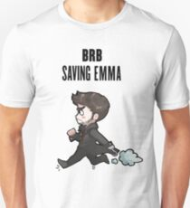 BRB -- saving emma Unisex T-Shirt