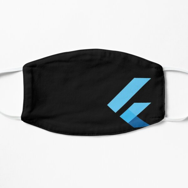 Flutter Mask Official. Only with one Logo: Model 2 Mask