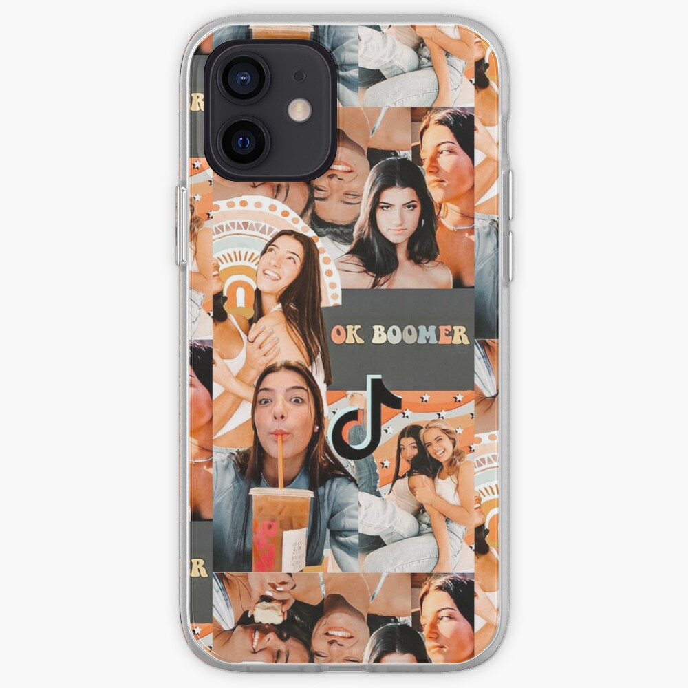 Charlie damelio collage  iPhone Case & Cover