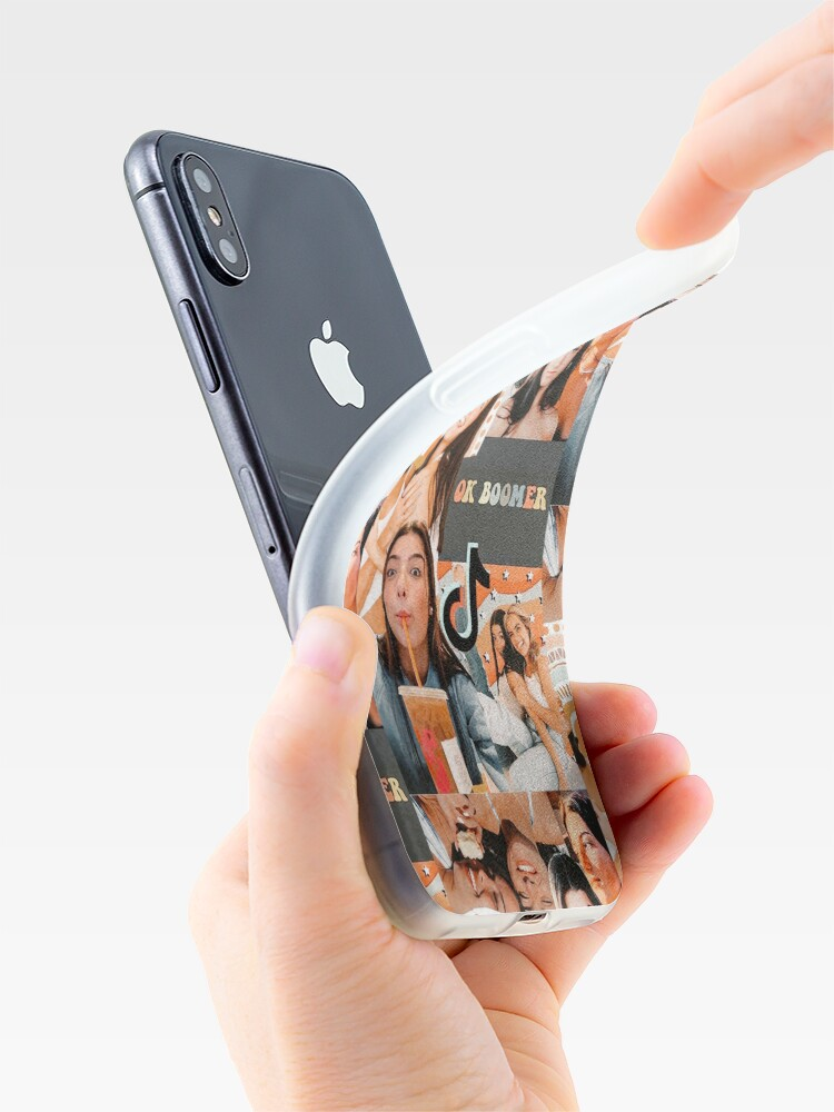 Alternate view of Charlie damelio collage  iPhone Case & Cover