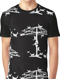 Hills Hoist with cats Graphic T-Shirt