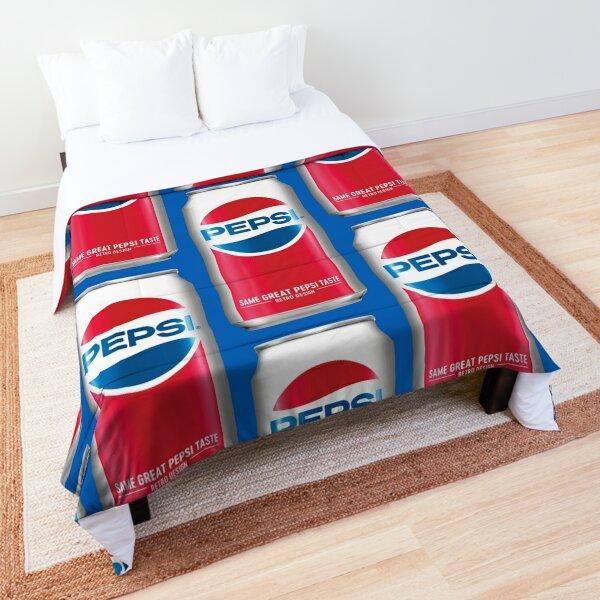 Pepsi Cola Vintage Can Comforter