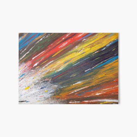 A Burst of Vivid Colors  Art Board Print