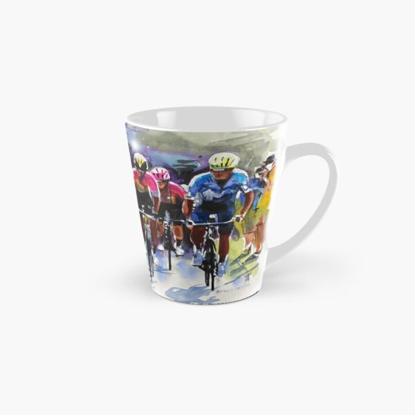 Climbing Forever: The Yellow Jersey Group Tall Mug