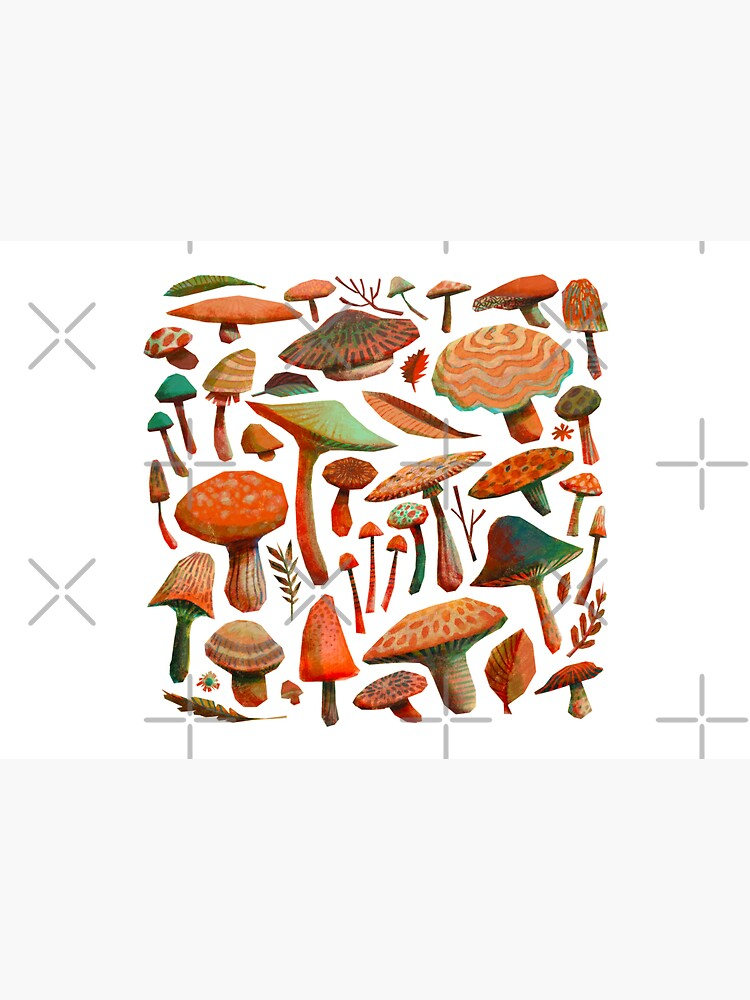 Mushroom Picking by CarlottArt