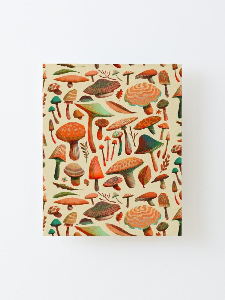 Alternate view of Mushroom Picking Mounted Print