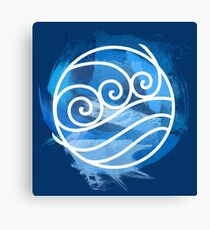 Water Tribe Canvas Print