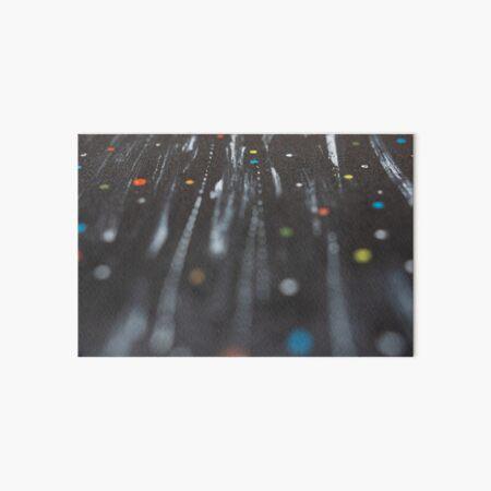 Lines of Colors & Dots Art Board Print