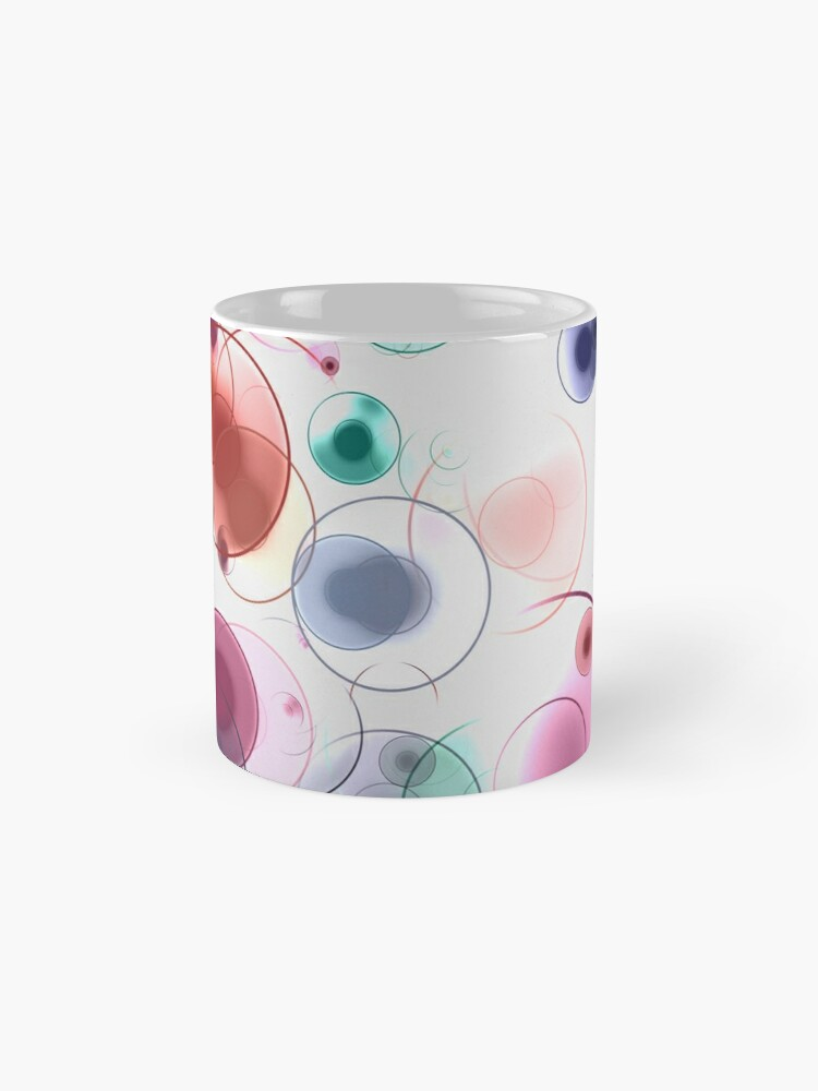 Alternate view of Playful circles Mug
