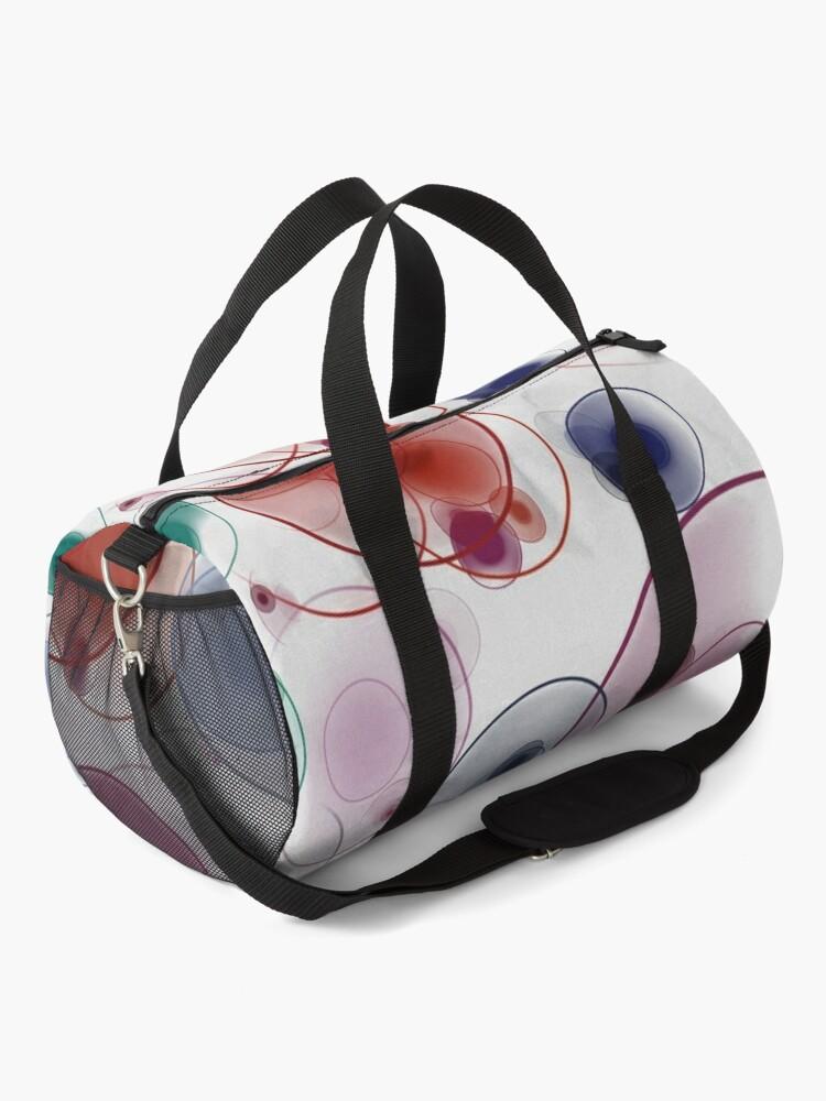 Alternate view of Playful circles Duffle Bag
