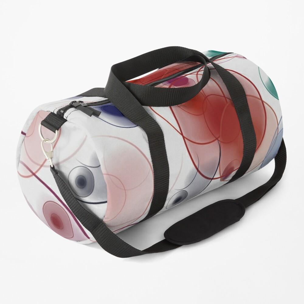 Playful circles Duffle Bag