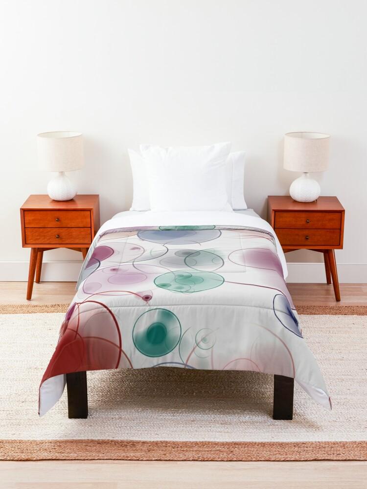 Alternate view of Playful circles Comforter