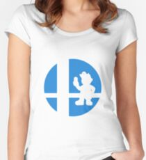 Dr. Mario - Super Smash Bros. Women's Fitted Scoop T-Shirt