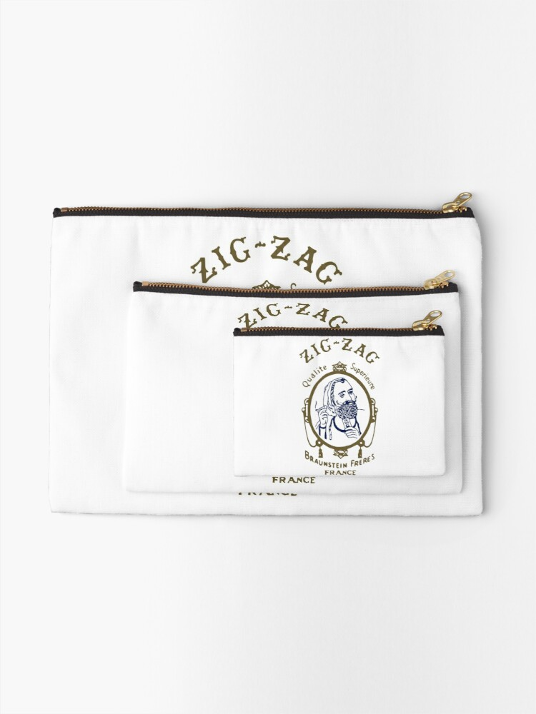 Alternate view of Zig Zag Cigarette Rolling Papers Zipper Pouch