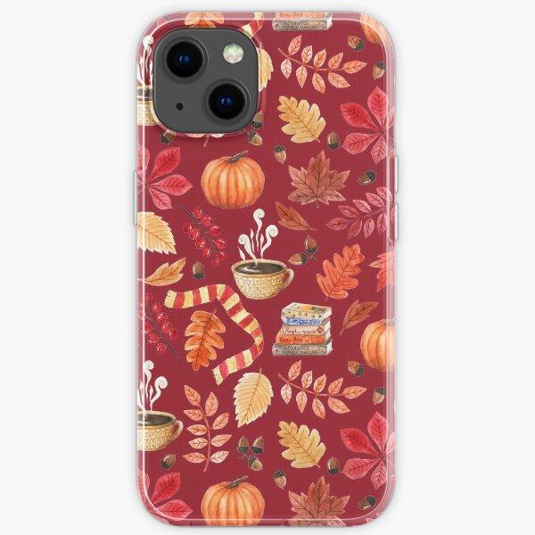 Cozy autumn iPhone Soft Case
