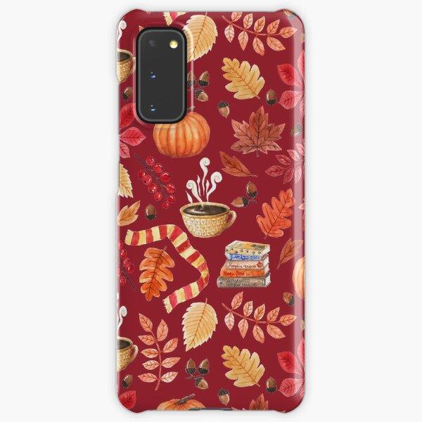 Cozy autumn Samsung Galaxy Snap Case