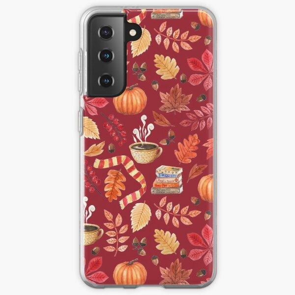 Cozy autumn Samsung Galaxy Soft Case