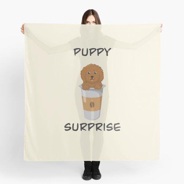 Puppy Surprise Scarf