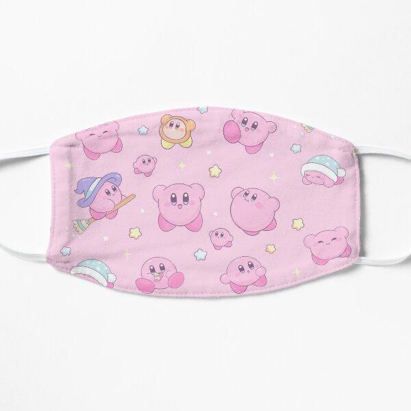 Kirby Pink Witch Flat Mask