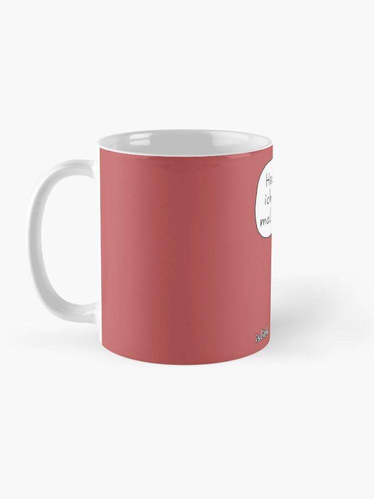 Alternative Ansicht von Wochenendplaene Tasse