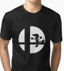 Mr. Game and Watch - Super Smash Bros. Tri-blend T-Shirt
