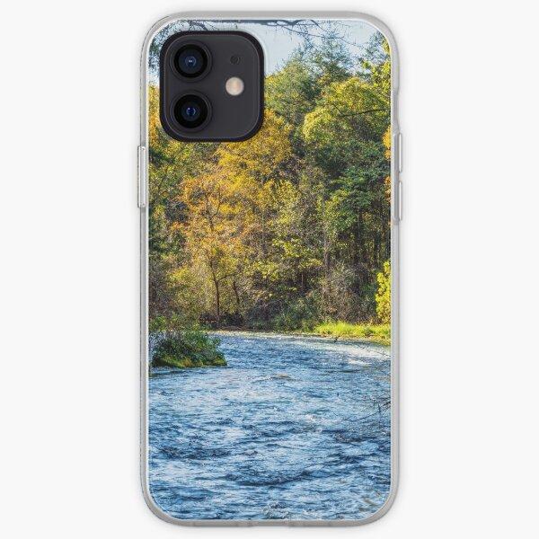 Autumn Along Current River iPhone Soft Case