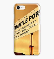 Welcome To Fremantle iPhone Case/Skin
