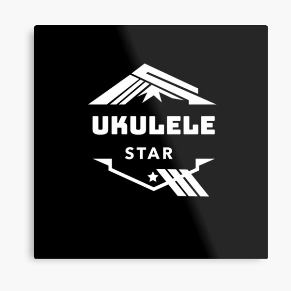 Ukulele Star Metal Print