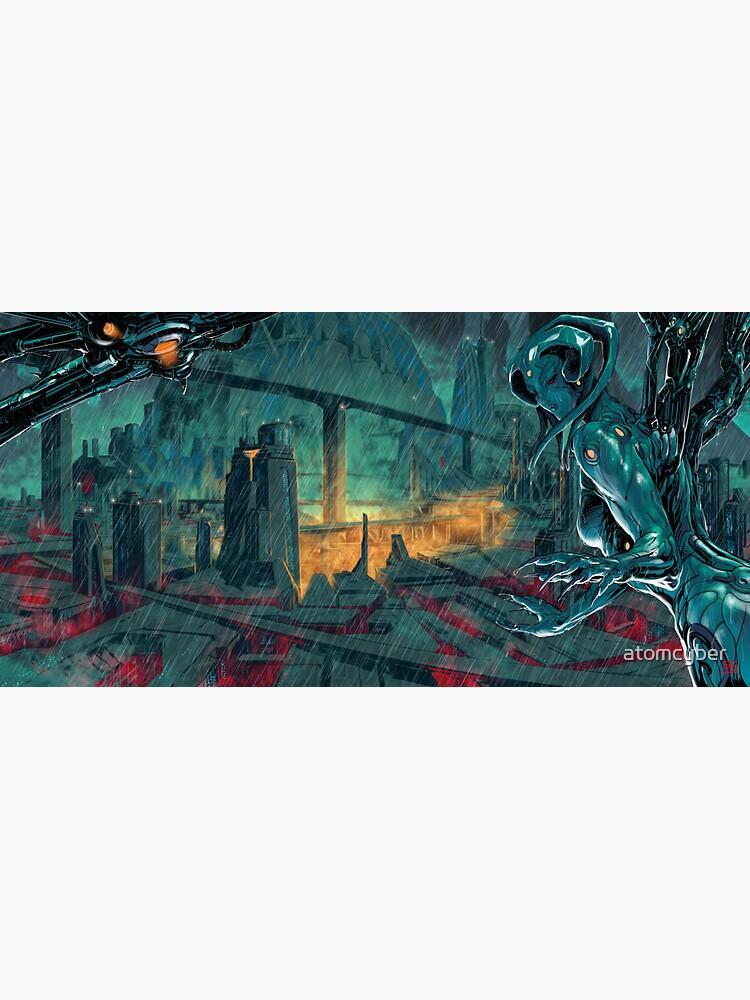 City of eternal rain by atomcyber