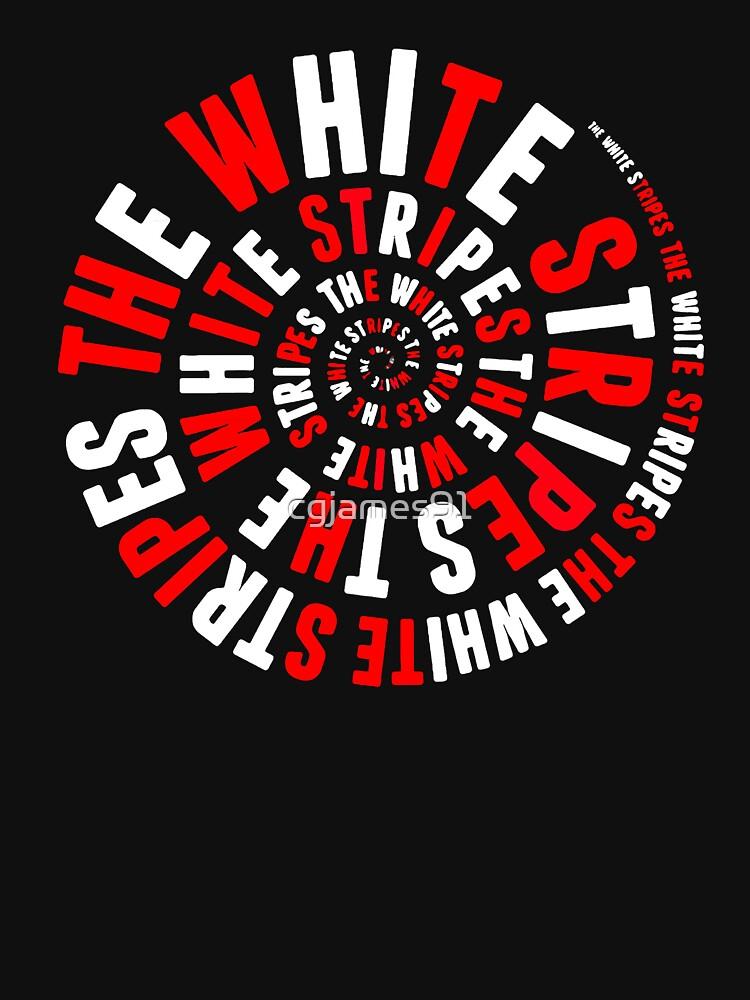 White Stripes Whirlpool | Unisex T-Shirt