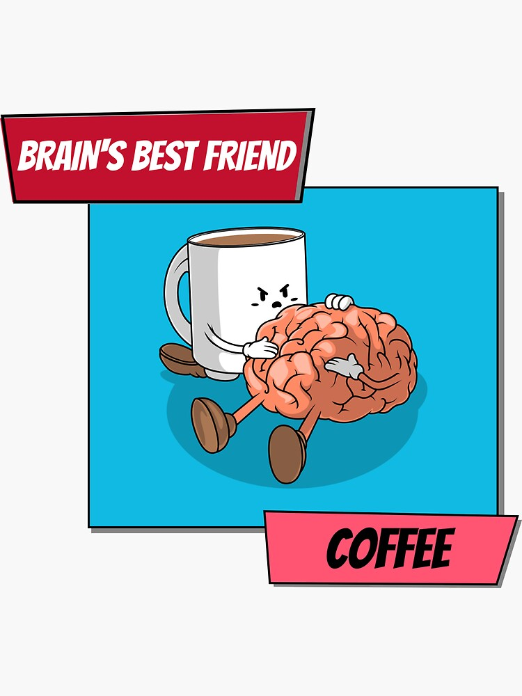 Brain And Coffee Design by ds-4