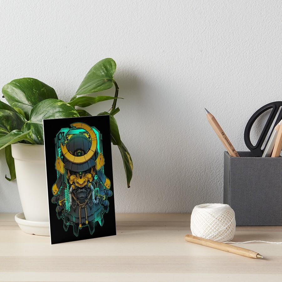 Samurai Mecha 01 Art Board Print