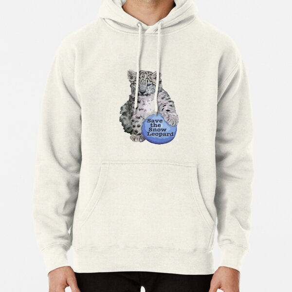 Snow Leopard Day 2018 Pullover Hoodie