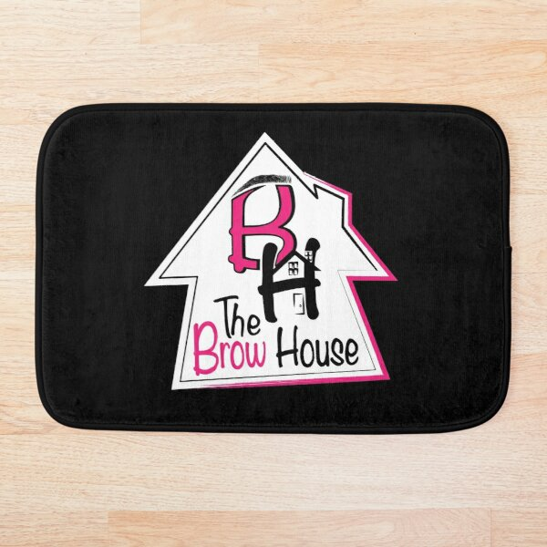 The Brow House Bath Mat