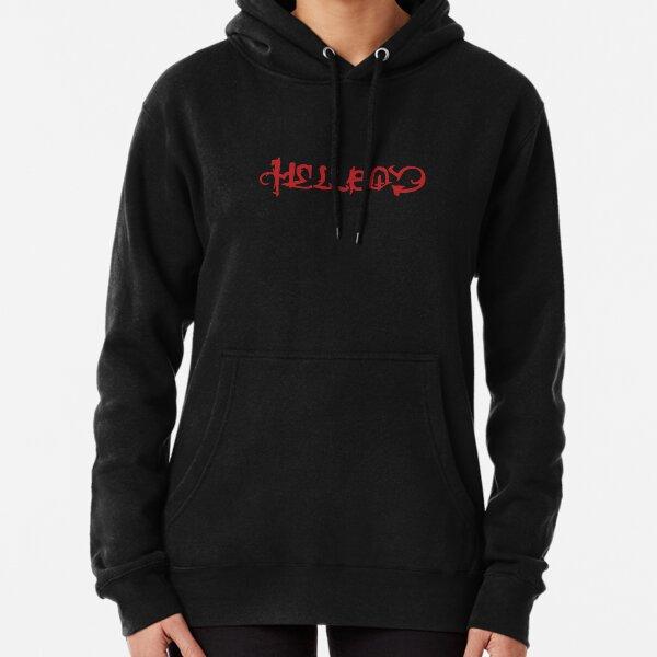 HELLBOY-LIL PEEP LOGO ALBUM Pullover Hoodie