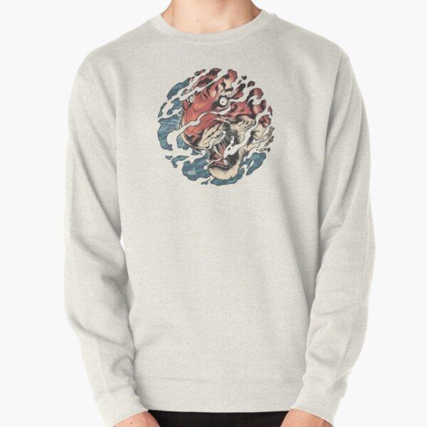 Tora - Japanese tiger tattoo art Pullover Sweatshirt