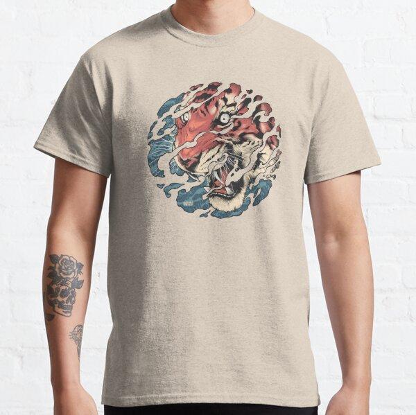 Tora - Japanese tiger tattoo art Classic T-Shirt