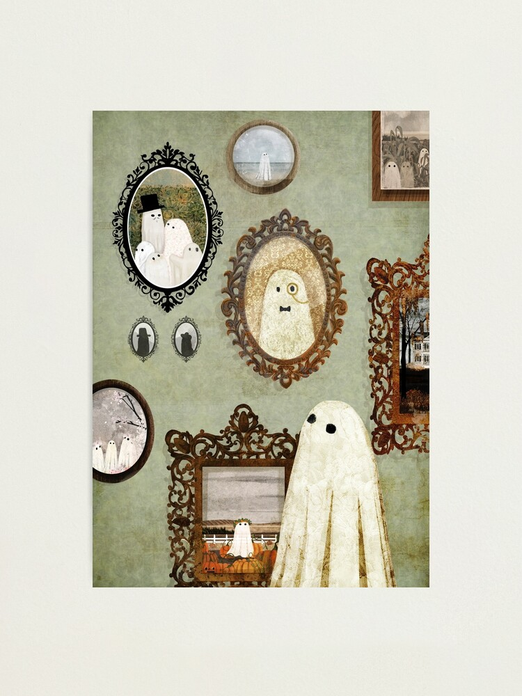 Alternate view of There's A Ghost in the Portrait Gallery Photographic Print