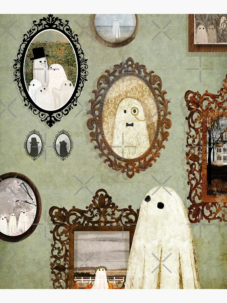 There's A Ghost in the Portrait Gallery by katherineblower